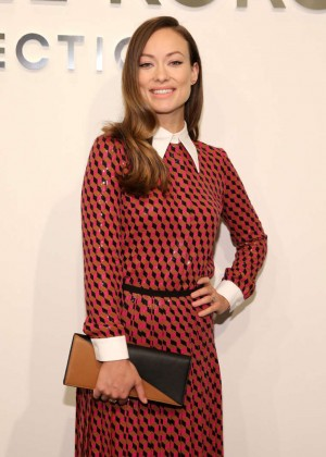 Olivia Wilde - Michael Kors Fashion Show Spring 2016 NYFW in NYC