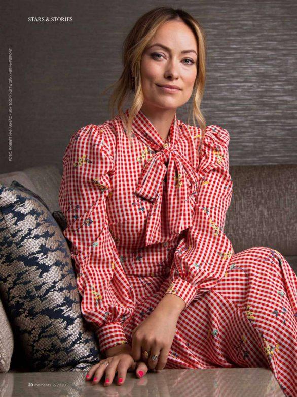 Olivia Wilde - moments Magazine - February 2020
