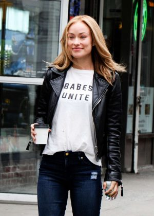 Olivia Wilde on 'Life Itself' set in New York