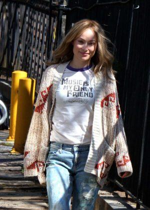 Olivia Wilde on 'Life Itself' set in Staten Island
