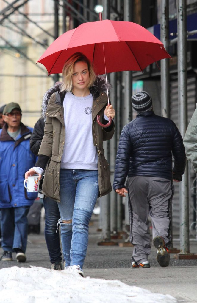 Olivia Wilde on the set of Life Itself -07