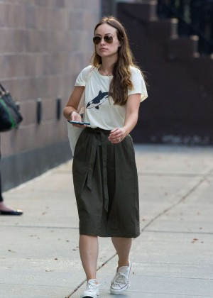 Olivia Wilde - Out and about in New York City