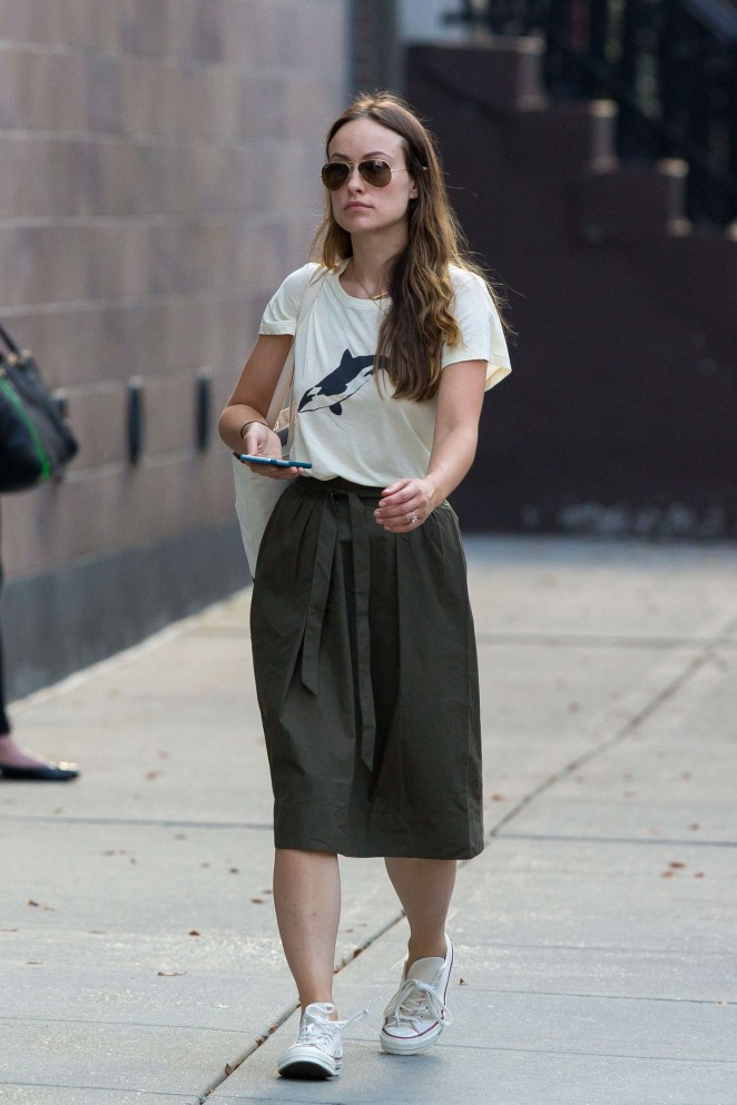 Olivia Wilde – Out and about in New York City