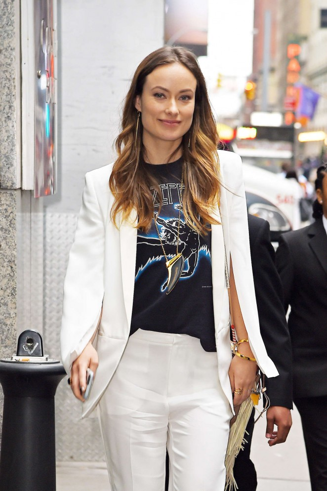 Olivia Wilde - Out and about in NYC