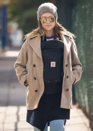 Olivia Wilde out in Brooklyn