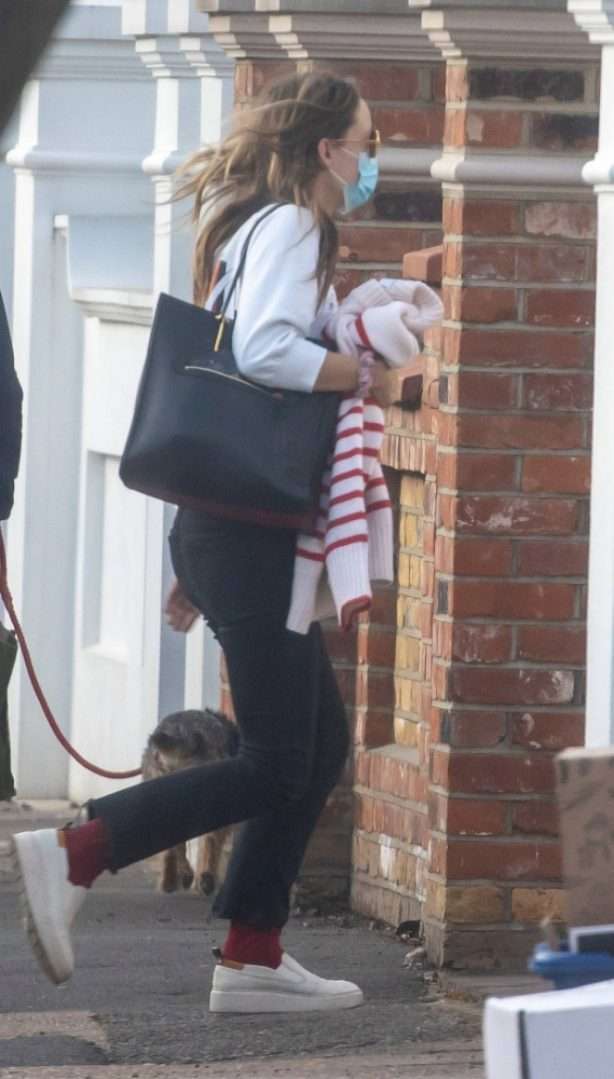 Olivia Wilde - Out in London