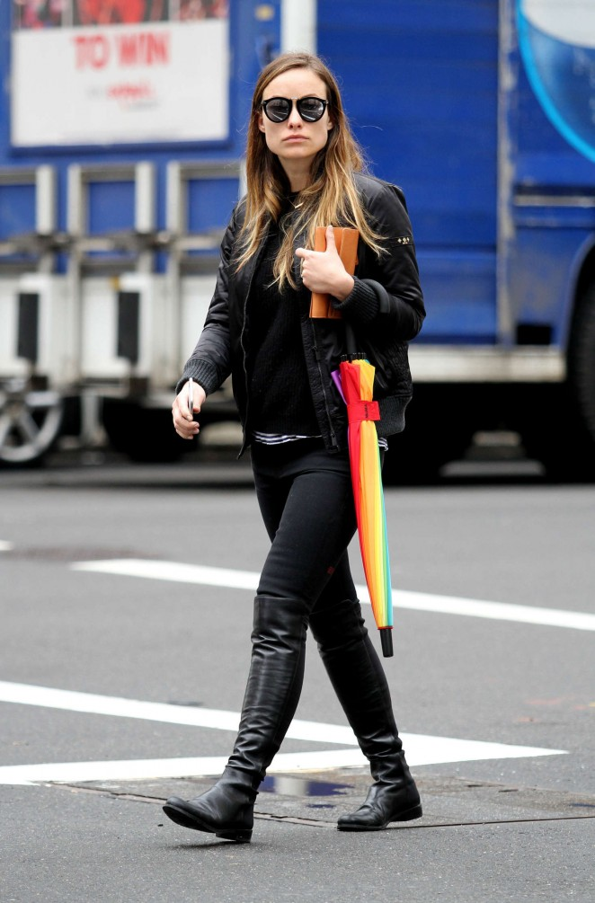 Olivia Wilde out in New York City -04