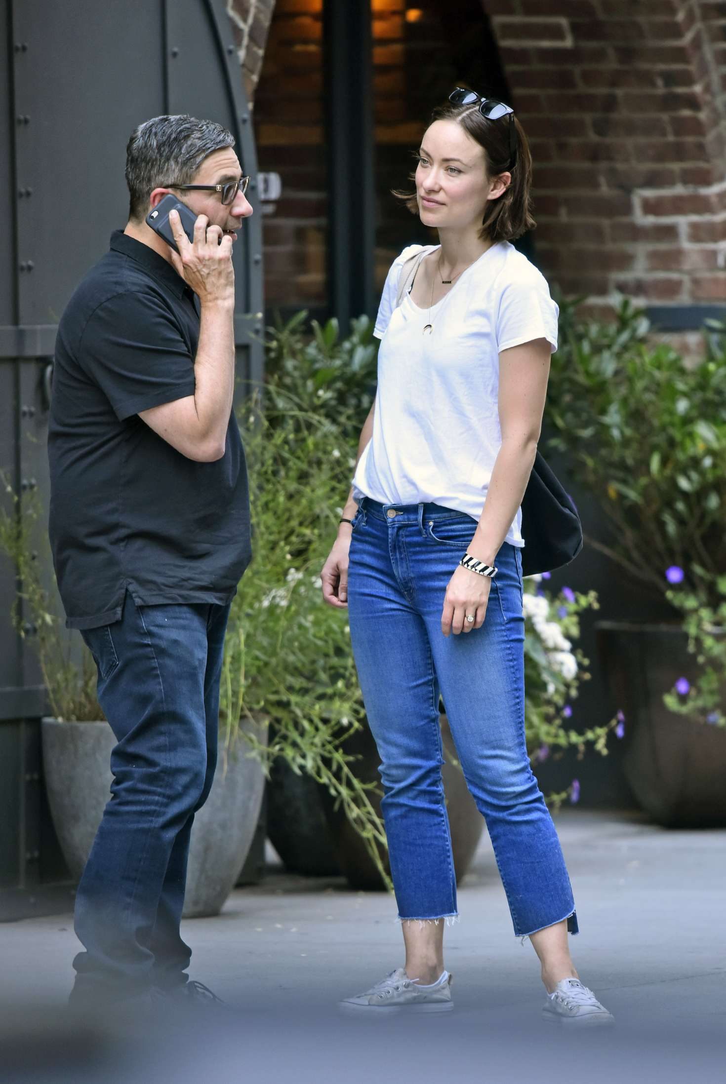 Olivia Wilde 2017 : Olivia Wilde out in New York City -05