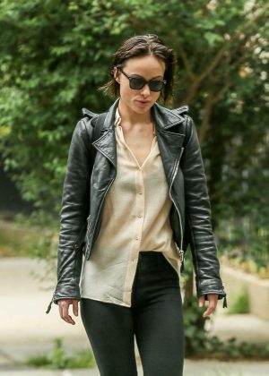 Olivia Wilde out in New York City