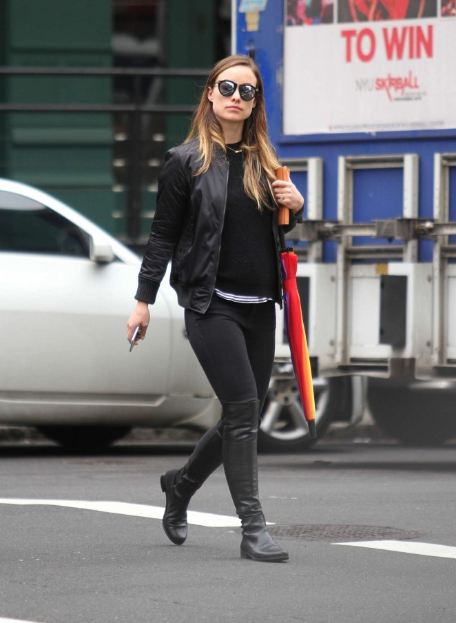 Olivia Wilde out in New York City -12