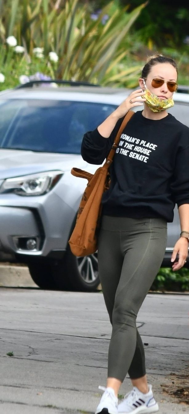 Olivia Wilde - out in Silverlake