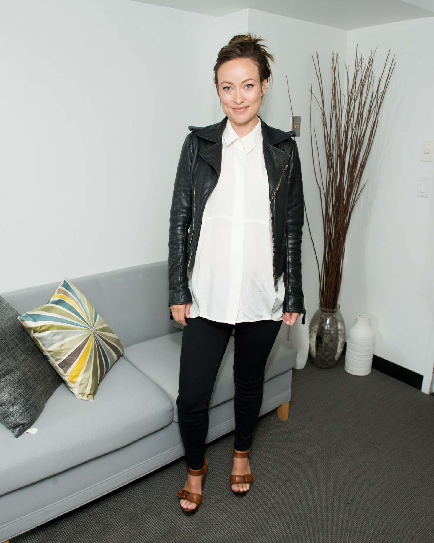 Olivia Wilde - SAG-AFTRA Foundation's The Business to discuss 'WOMAN' in New York City