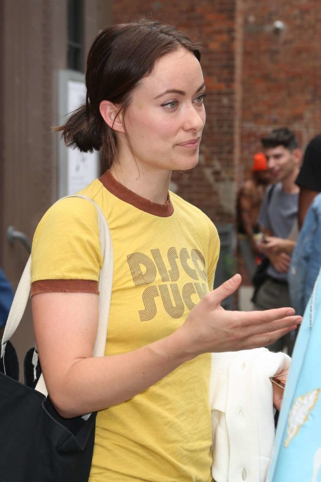 Olivia Wilde - Seen Out and about in New York