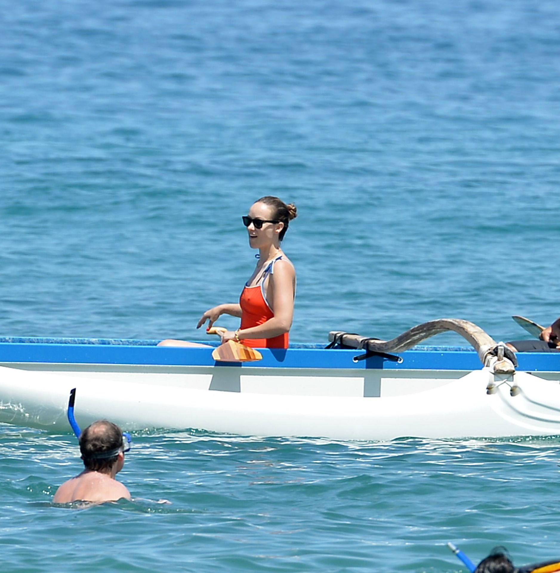 Olivia Wilde 2019 : Olivia Wilde: Spotted on the beach on her vacation in Maui-17