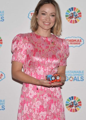 Olivia Wilde - Sustainable Development at the United Nations Headquarters in NY