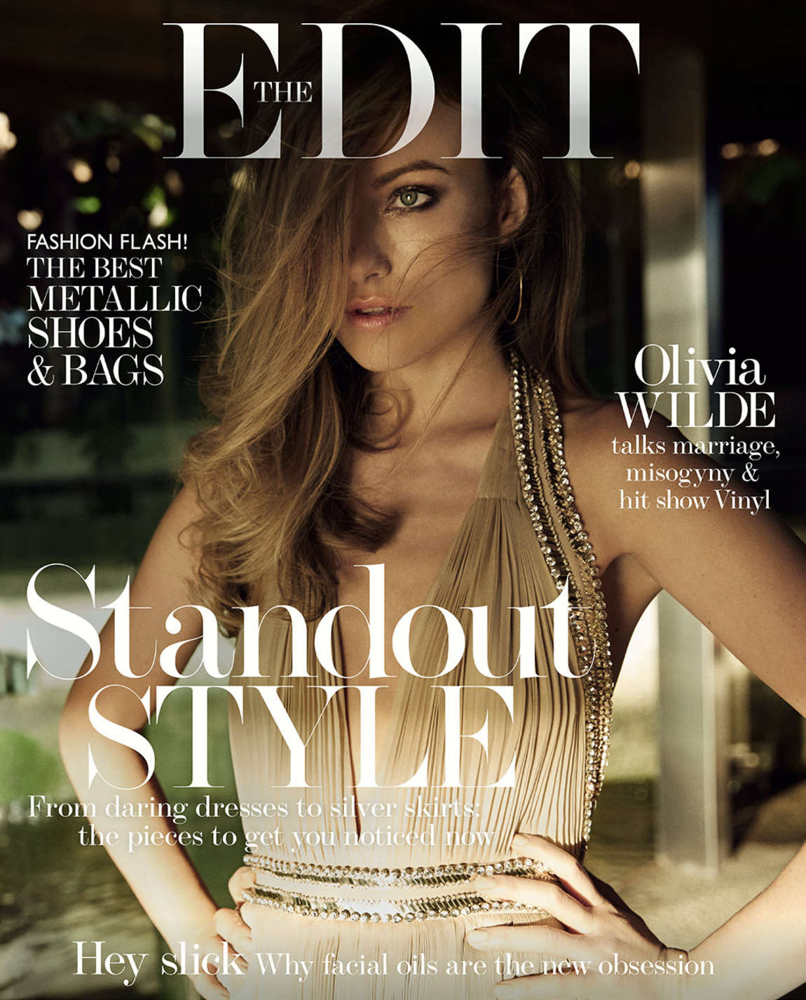 Olivia Wilde - The EDIT Magazine Cover (February 2016)