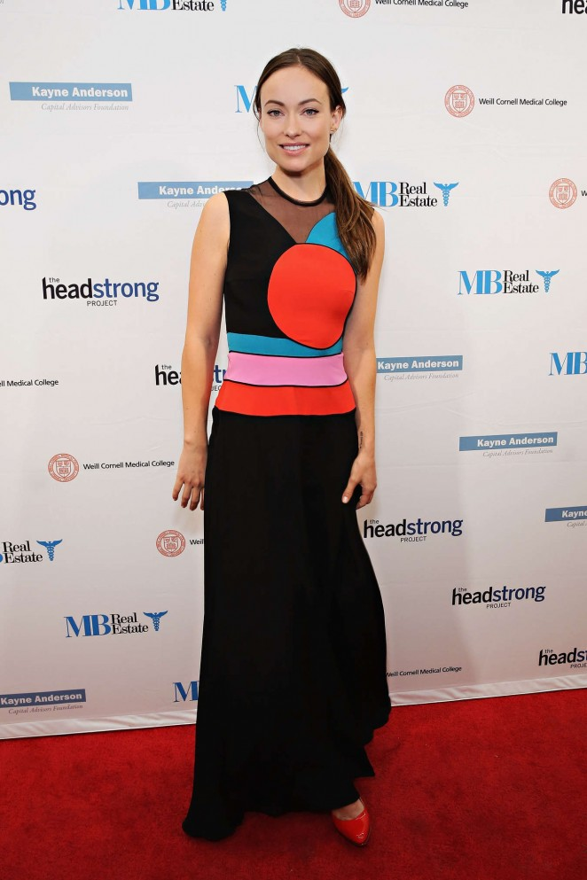 Olivia Wilde - The Headstrong Project's 3rd Annual Words of War Event in NYC