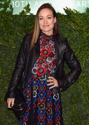 Olivia Wilde - The Lunchbox Fund 10th Anniversary Benefit Dinner and Auction in NYC