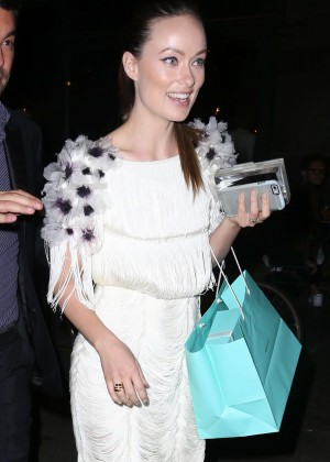 Olivia Wilde - Tiffany Blue Book Dinner in NYC