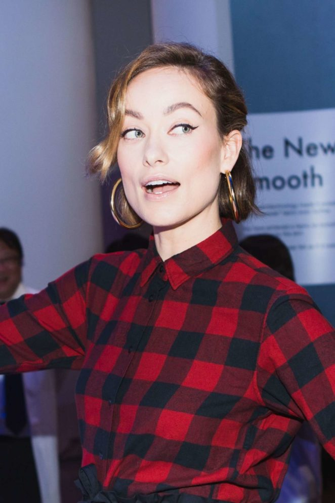 Olivia Wilde - Uniqlo x Toray: The Art and Science of Lifewear Event in NY