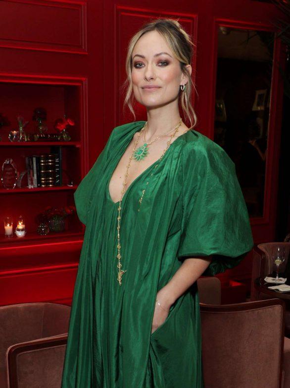 Olivia Wilde - Variety x Armani Makeup Artistry Dinner in Los Angeles
