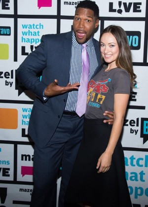 Olivia Wilde - Visiting Bravo Tv's Watch What Happens Live in NY