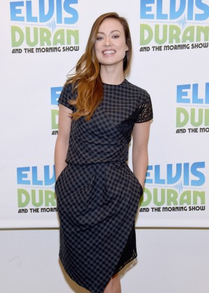 """Olivia Wilde - Visits """"The Elvis Duran Z100 Morning Show"""" in NYC"""