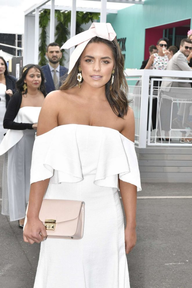 Olympia Valance - Attends the Stakes day races in Sydney