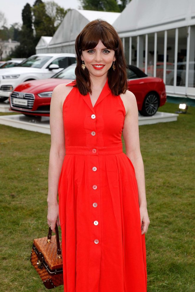 Ophelia Lovibond - Audi Polo Challenge - Day One in Ascot