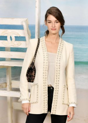 Ophelie Guillermand - Chanel Fashion Show in Paris
