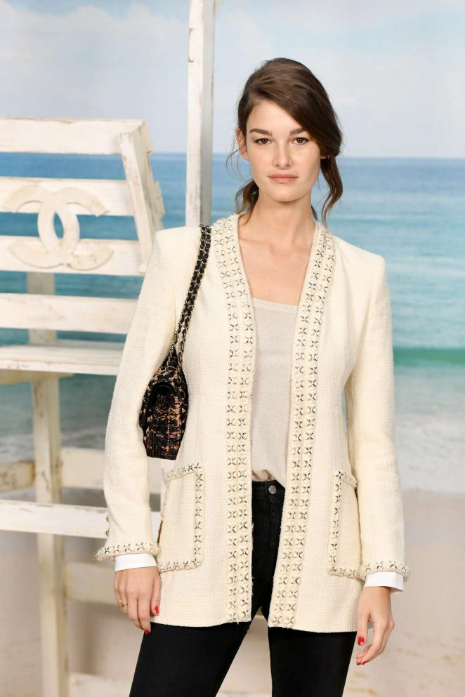Ophelie Guillermand – Chanel Fashion Show in Paris