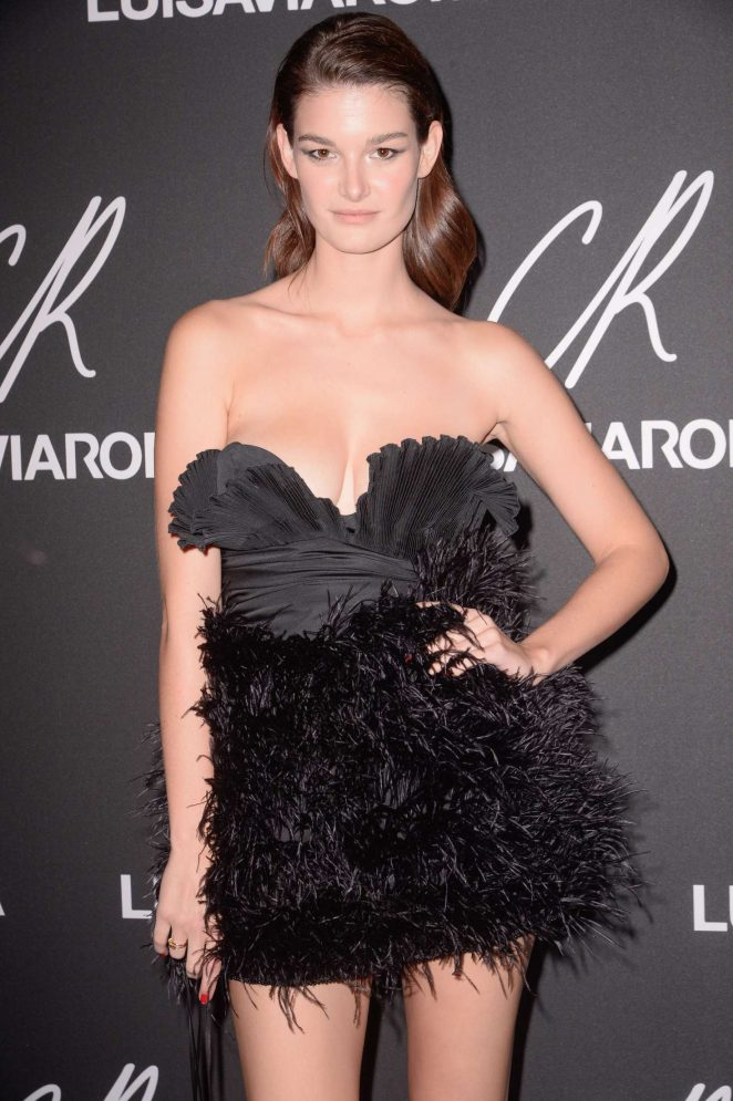 Ophelie Guillermand – CR Fashion Book x Luisasaviaroma: Photocall in Paris