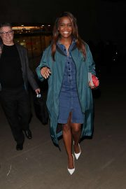 Otlile Mabuse - Leaving The Set Of The One Show in London