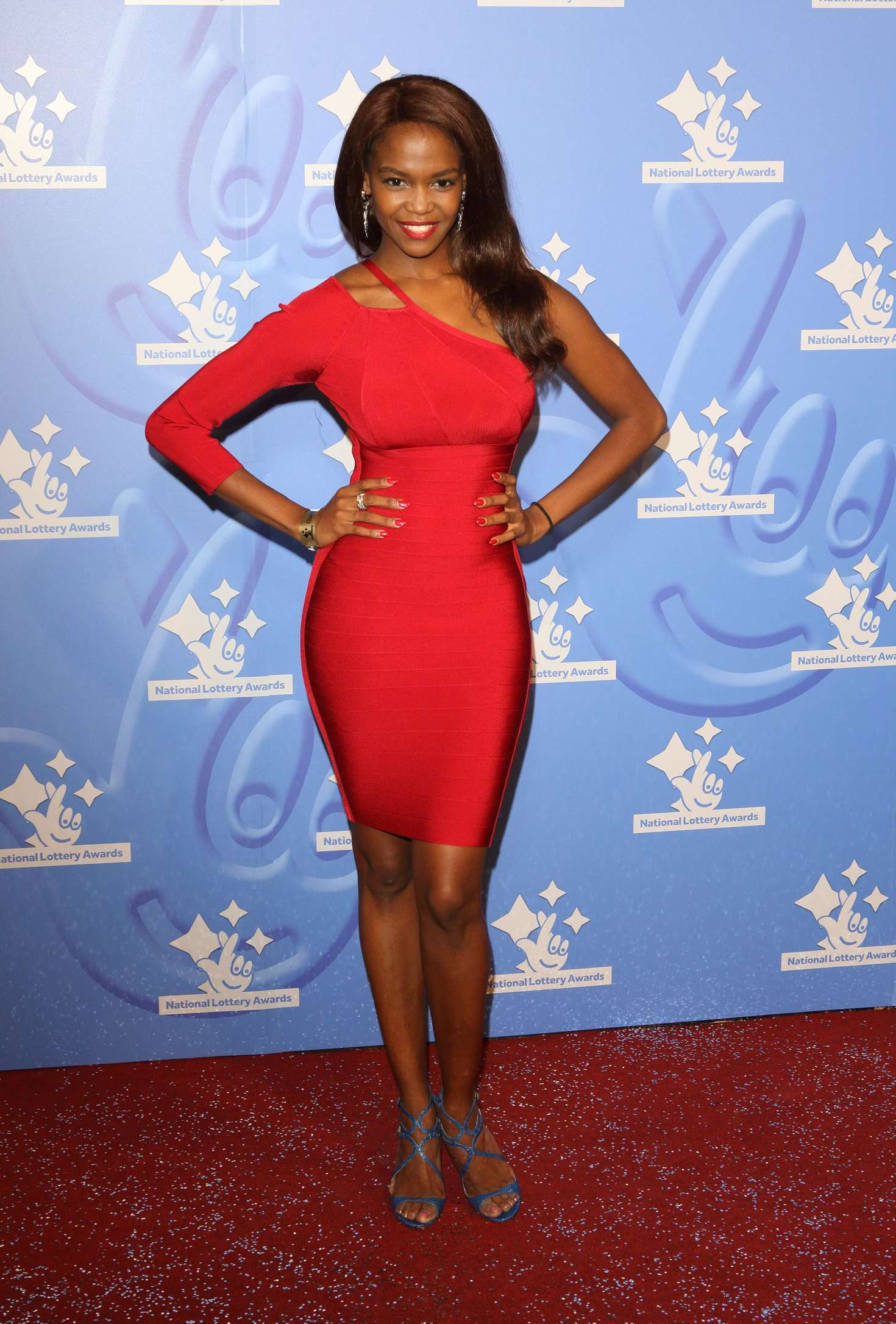 Otlile Mabuse - National Lottery Awards 2016 in London