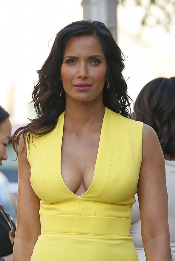 Padma Lakshmi - 2015 NBCUniversal Cable Entertainment Upfront in NYC