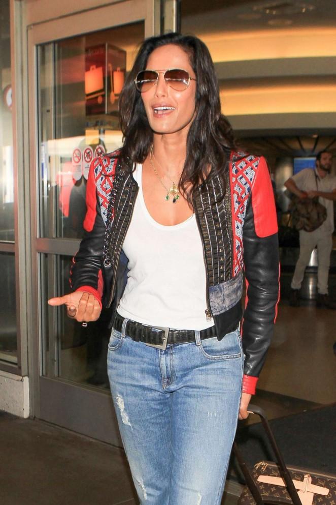 Padma Lakshmi – LAX Airport in LA