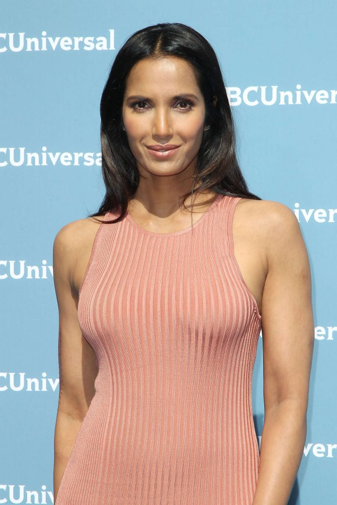 Padma Lakshmi - NBCUniversal Upfront Presentation 2016 in New York City