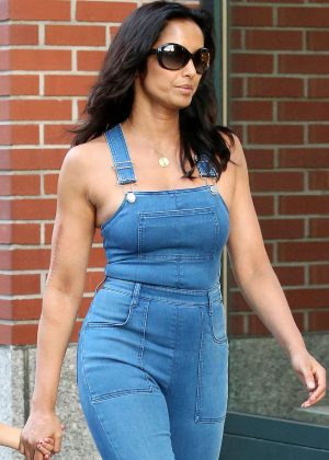 Padma Lakshmi out in New York City