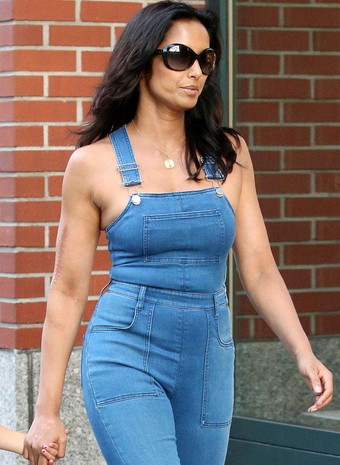 Padma Lakshmi out in New York City