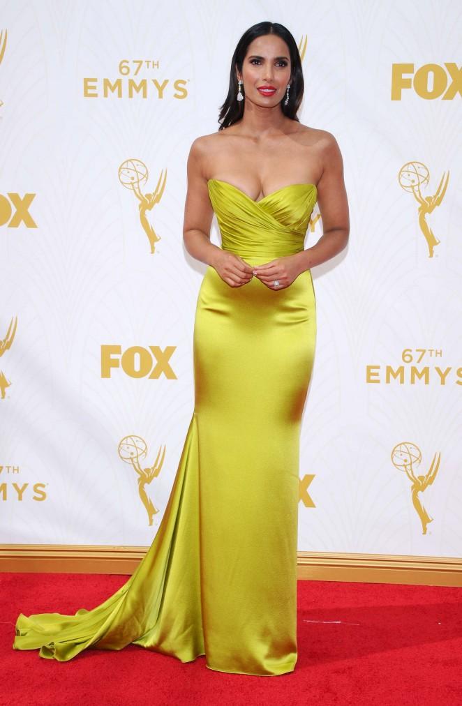Padma Lakshmi - 2015 Primetime Emmy Awards in LA