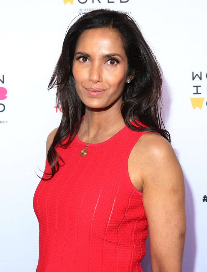 Padma Lakshmi - Women in the World's 7th Annual Summit Opening Night in NY