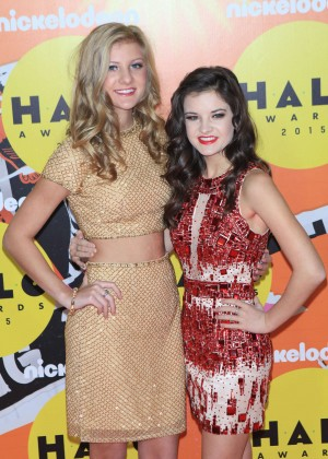 Paige and Brooke Hyland - 2015 Nickelodeon HALO Awards in NYC