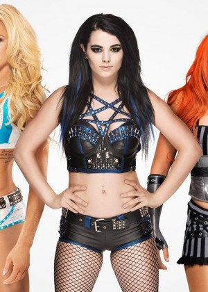 Paige, Becky Lynch & Charlotte - WWE Divas Revolution Photoshoot