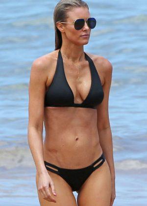 Paige Butcher in Bikini on the Beach in Hawaii