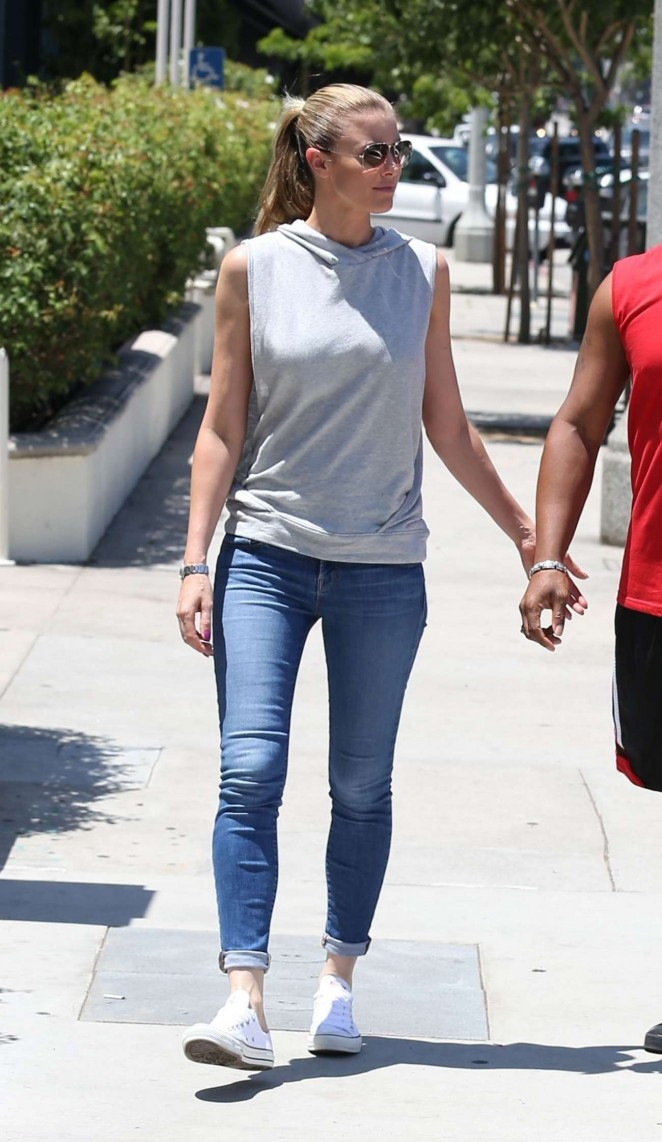 Paige Butcher in Jeans Out in Sherman Oaks