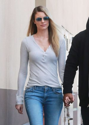 Paige Butcher in Jeans out in Studio City