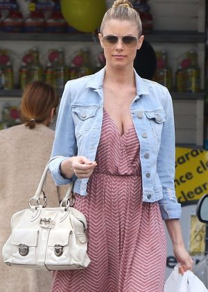 Paige Butcher in Long Dress out in Studio City