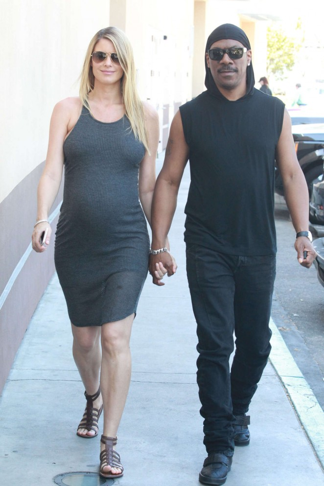 Paige Butcher in Tight Dress at Coffee Bean -09 - GotCeleb