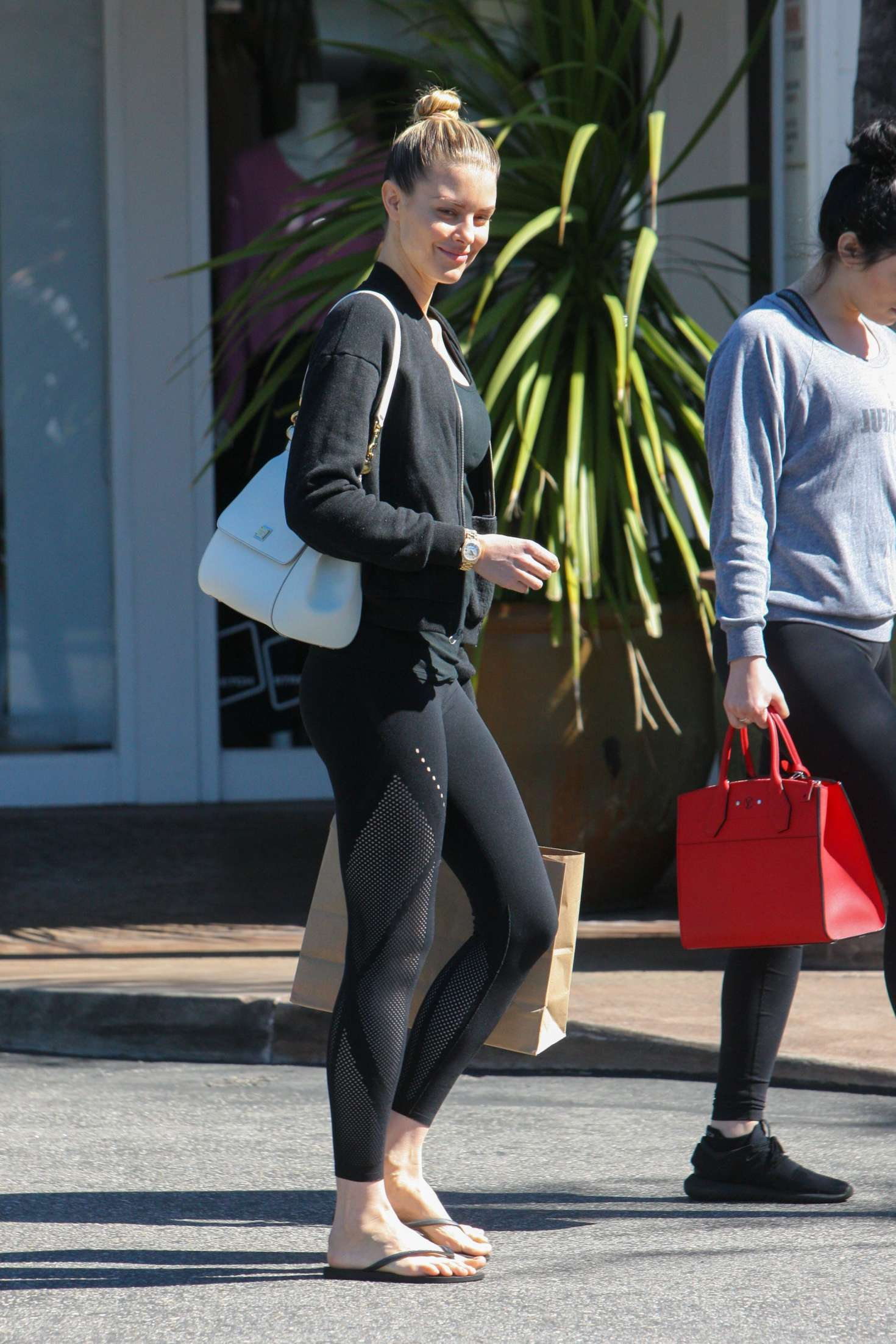 Watch Paige butcher in spandex beverly hills video
