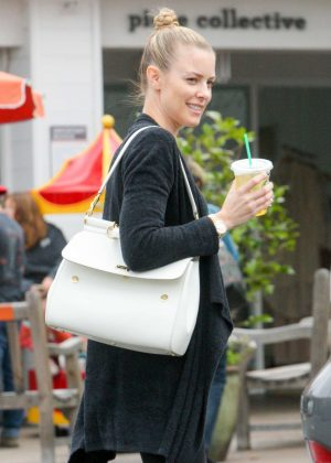 Paige Butcher Leaves workout in Beverly Hills